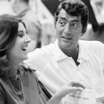 Dean Martin with daughter Deana at a recording session August 1966 ©1978 Ed Thrasher